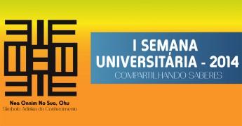 I Semana Universitária da Unilab